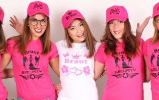 polterabendgruppe_pinke_shirts