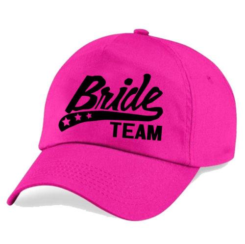 bride-team-cap-pink