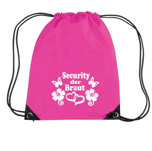 security-der-braut-flowers-turnbeutel-pink