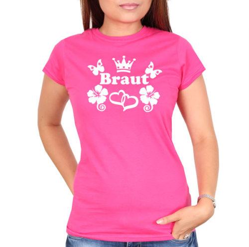 braut-flowers-pink-tshirt