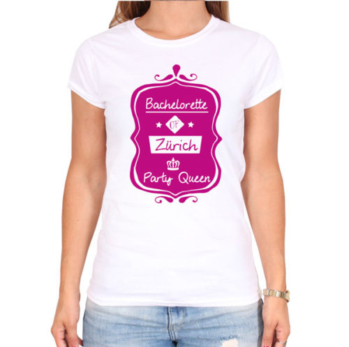 bachelorette-of-city-party-weiss-frauen-tshirt