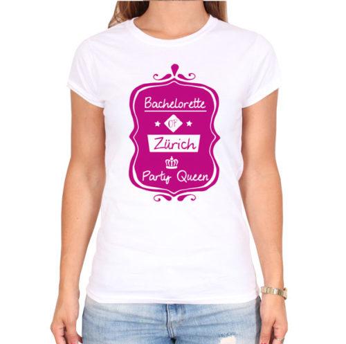 bachelorette-of-city-party-weiss-frauen-tshirt