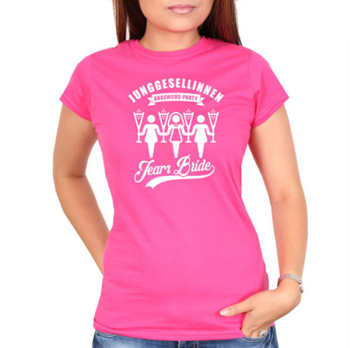 Abschiedsparty-Champagner-pink-tshirt
