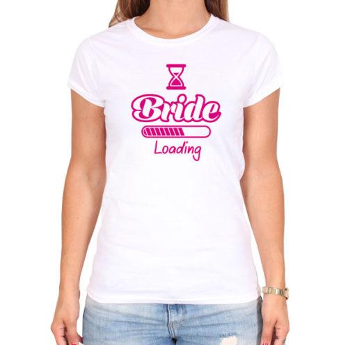 Bride-loading-weiss-tshirt