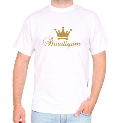 Bräutigam_krone_elegant_weiss-tshirt