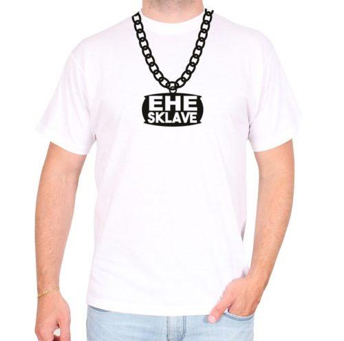 Ehe-Sklave-ketten-weiss-tshirt